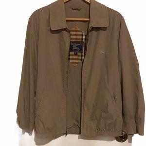 2x HP! EUC Vintage Burberry men's small jacket.